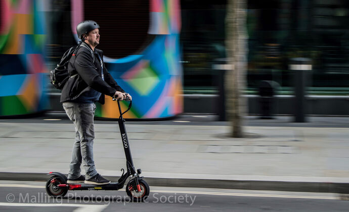 2 Scooting Through London by Tania Murray