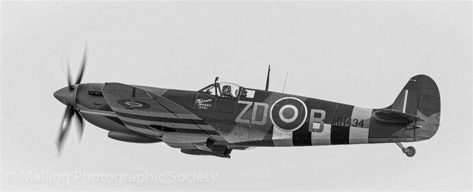 2 Spitfire by John Horne