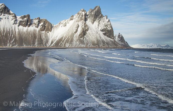 2 VESTRAHORN BEACH by Patricia Begley