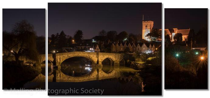 3 Aylesford Bridge at Night by John Horne
