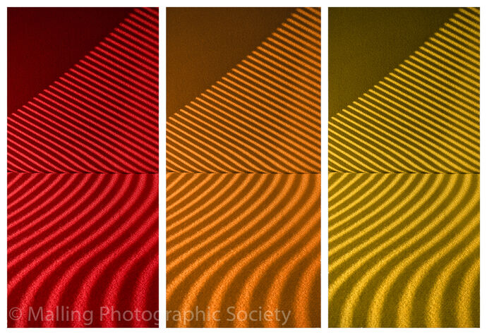 3 Coloured Curves by Rich Day