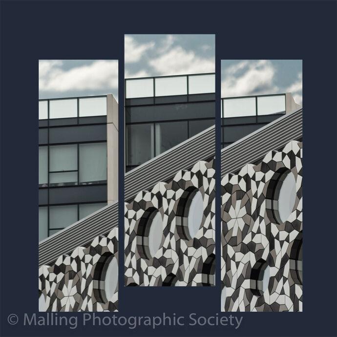 3 London Blocks by Jennifer Lane