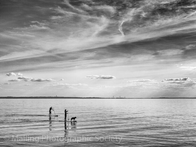 3 PADDLE BOARDING by James Alexander