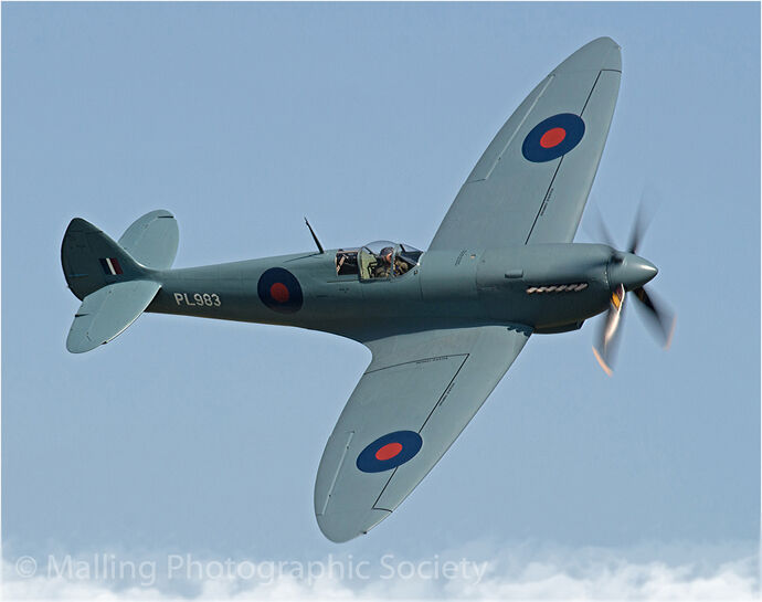 3 Photo recce Spitfire Mk XI by Alan Smith