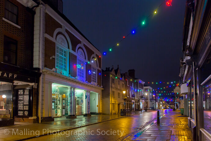3 Rochester at Christmas by David Furness