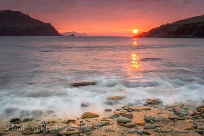 3 Sunset at Coumeenoole beach by James Alexander