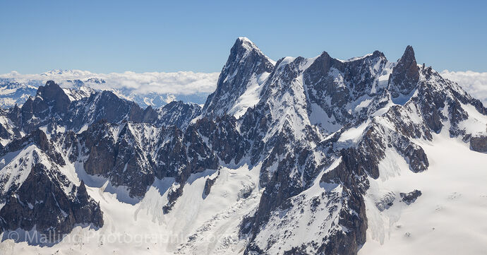 3 View From Mont Blanc by David Alston