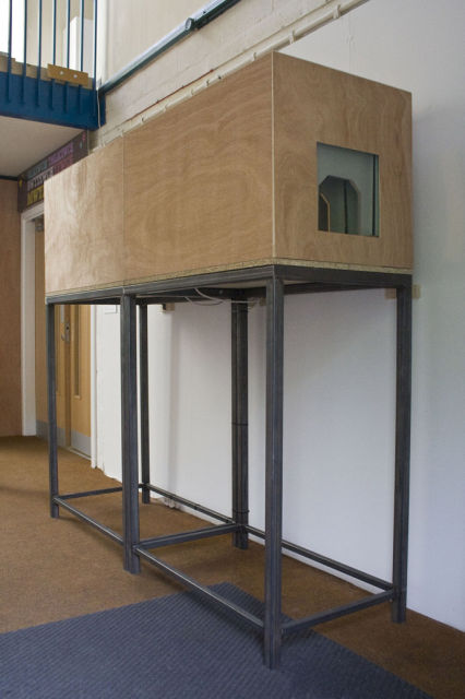 A double-ended vitrine - 'the difference between sublime and beautiful'