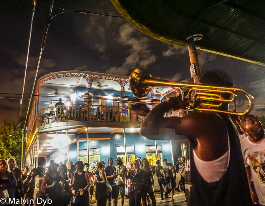 Streetband at the Frenchman- New Orleans