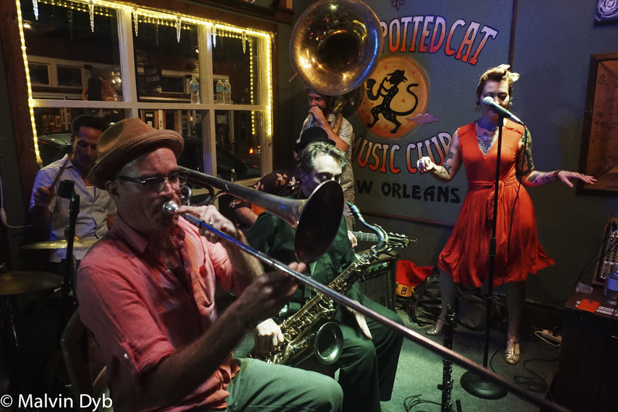 Spotted cat music club- Frenchman  New Orleans -a place with soul