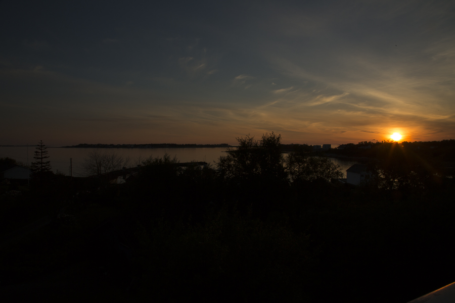 view from my house late summer 2014