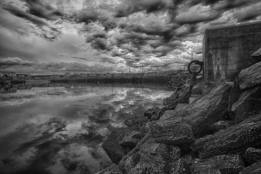 Quay end Alnes harbor