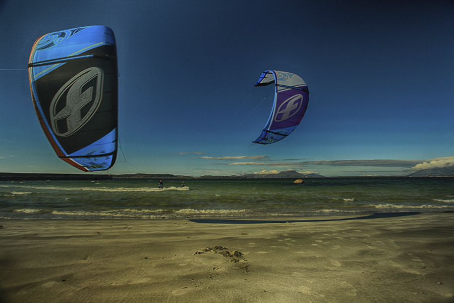 KIters at Giske