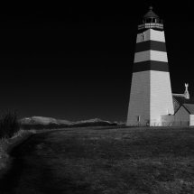 Path to the lighthouse