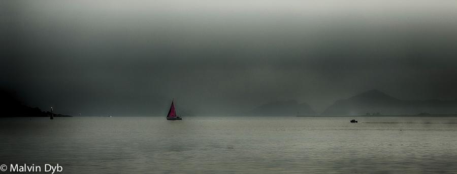 Red Sail- Valderhaugfjorden