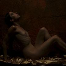 Kayleigh Lush artistic pose