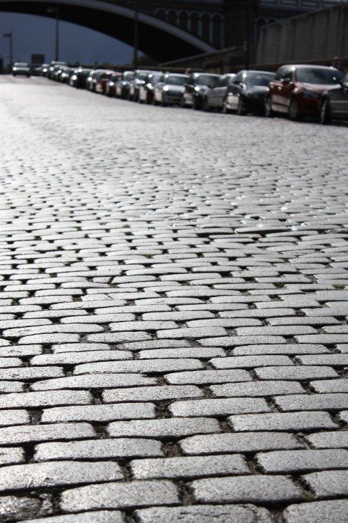 Cobbled Streets of Edinburgh