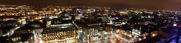 george square panorama