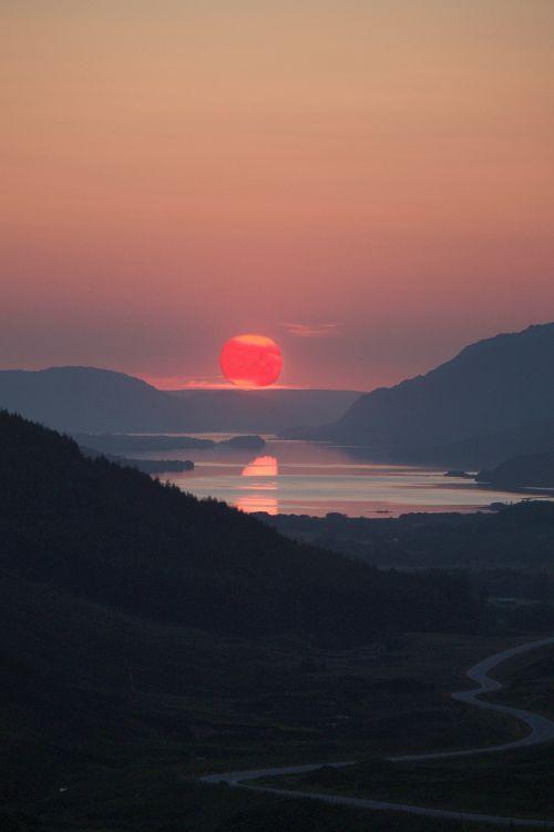 Sun Set Glen Docherty
