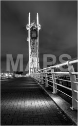 16 Salford Quays at Night