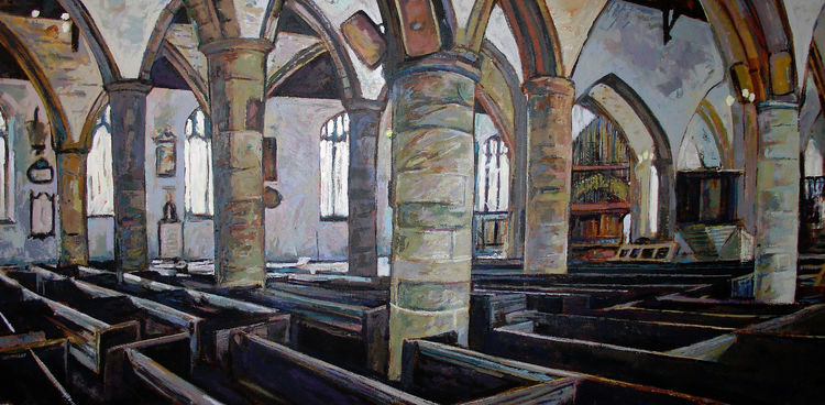 Kendal church interior I