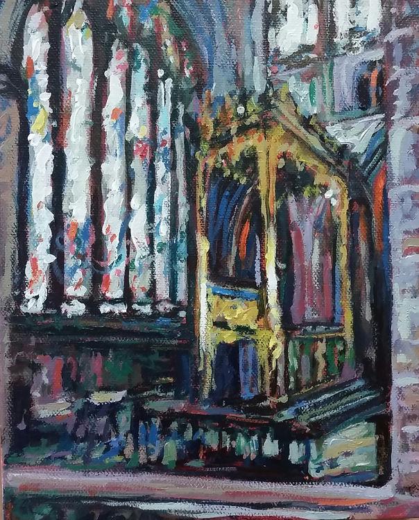 Carlisle cathedral interior I