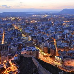 City of Alicante Spain