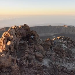 Mount Teide Summit Climbing Tenerife Canary Islands