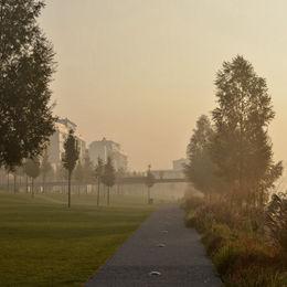 Eurovea Park Bratislava Slovakia