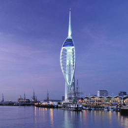 Spinnaker Tower Portsmouth England