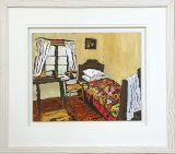 A Seamstress's Bedroom - Framed