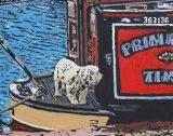 Dog On A Narrow Boat