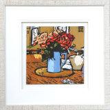 Jug O' Roses - Framed
