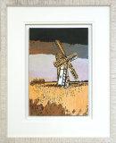 Windmill At Thurne - Framed