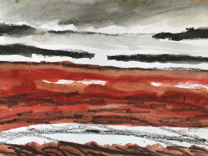 Red beach, St martins