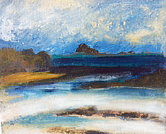 October beach, Bryher