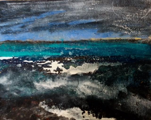 January Seas, Sennen  sold