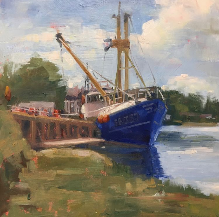 August 22nd, 23rd and 24th Three Day In/Out Painting Workshop £200 10am-4pm Welcome to the new inside/outside three day workshop, working Plein Air and in the studio . We will sketch and paint, in and around beautiful Kirkcudbright. Working  outdoors where you can really see the colours in the shadows and the light, I hope to start you on a path of working from life as much as possible. If you are coming from out with the area, I can give you some ideas about where to stay, there are a number of places near my studio.  You will be given a materials list , on booking