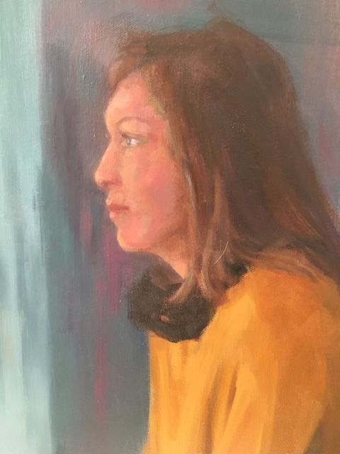 September 22nd Portrait Drawing & Painting £65.    Last workshop of the season. Working direct from the model, in my studio, places will be limited. Bring along oil, acrylic or soft pastels, working no bigger than 30cm x 40cm please all levels welcome