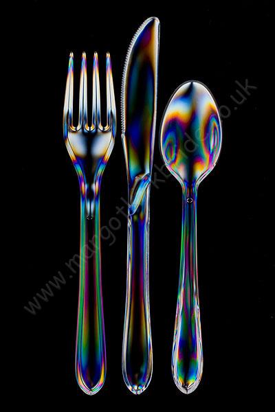 Fork, knife, spoon
