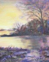 Sunset at Thornton Reservoir