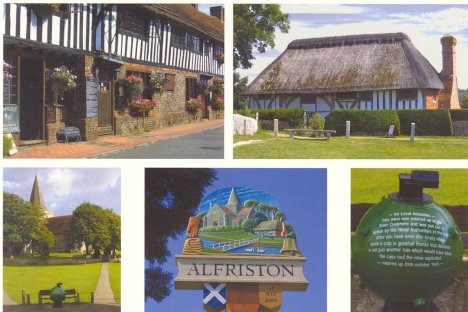 Alfriston Clergy House, Church & Mine: East Sussex