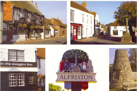 Scens at Alfriston: East Sussex