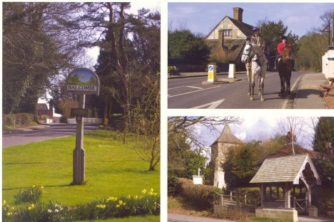 St. Mary's, Horse Riding & Village Green: Balcombe: West Sussex