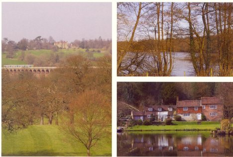 Balcombe Viaduct, Lake & Cottages: West Sussex