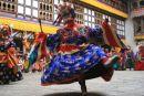 Festival Dancing in Bhutan