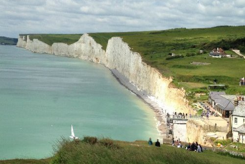 View over Birling Gap & The Seven Sisters