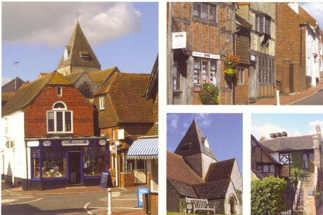 Scenes of Ditchling: West Sussex