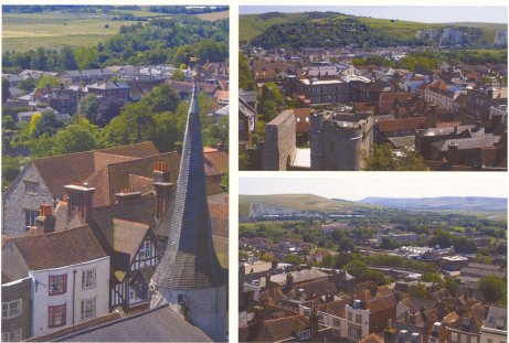 Suumer Views over Lewes: East Sussex