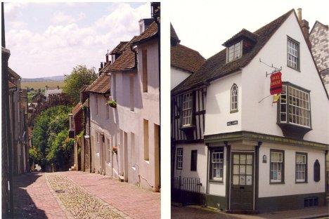 Bull House & Keere Street: Lewes: East Sussex